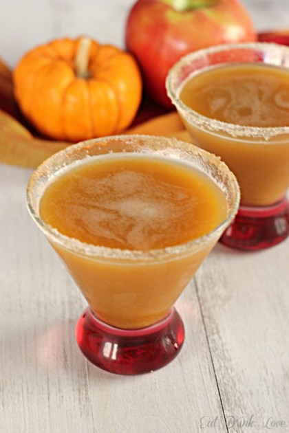 Apple Pumpkin Martini - thanksgiving