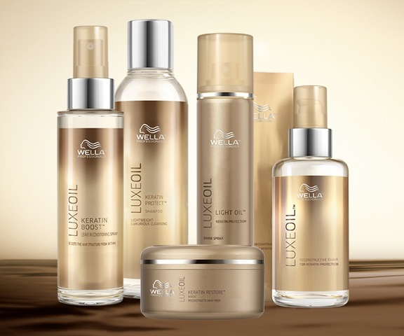 Wella LuxeOil Products