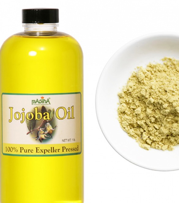 Grated ginger and jojoba oil stimulate hair growth