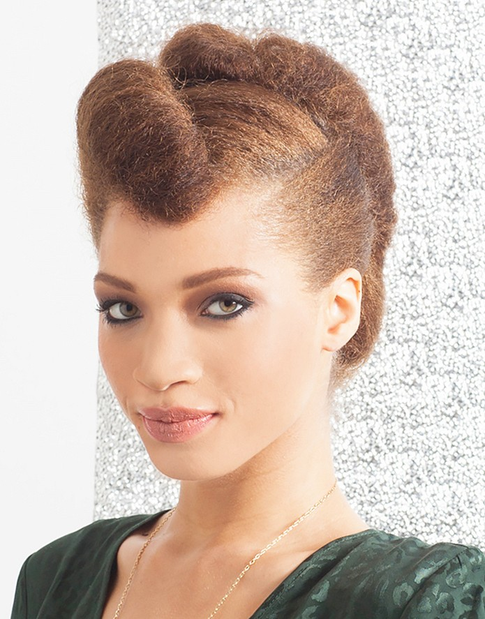 The Elegant Twist - hair style