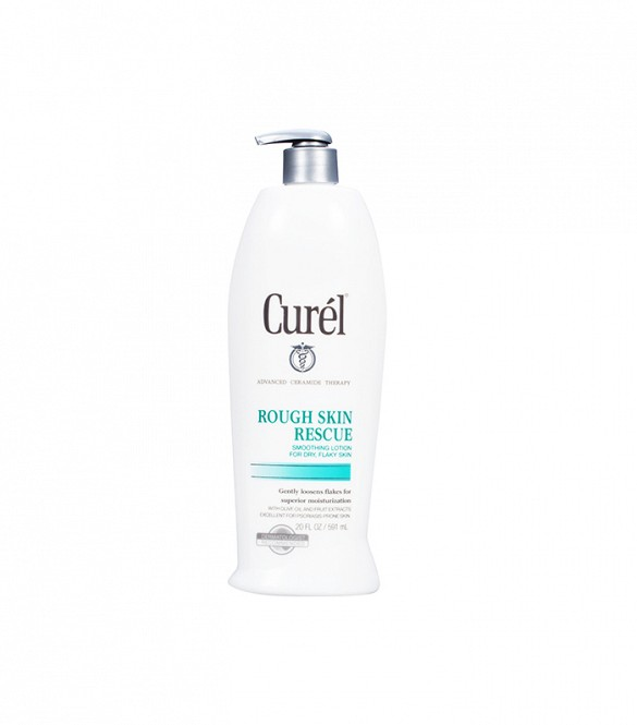 Curel Rough Skin Rescue - lactic acid, an AHA that gently exfoliates skin