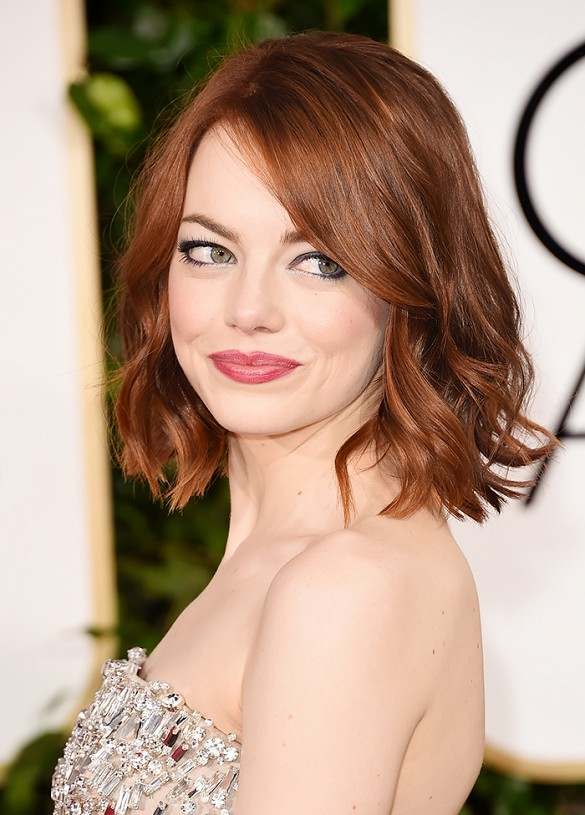 Emma Stone - Ronze color hair