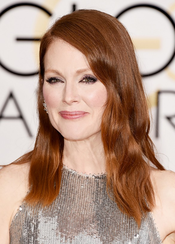 Julianne Moore - Ronze hair