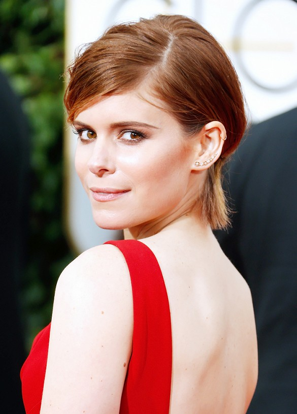 Kate Mara - Ronze hair color