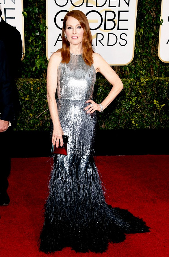 PHOTO: Jason Merritt/Getty Images Julianne Moore - Winner for Best Actress in a Motion Picture Drama for Still Alice