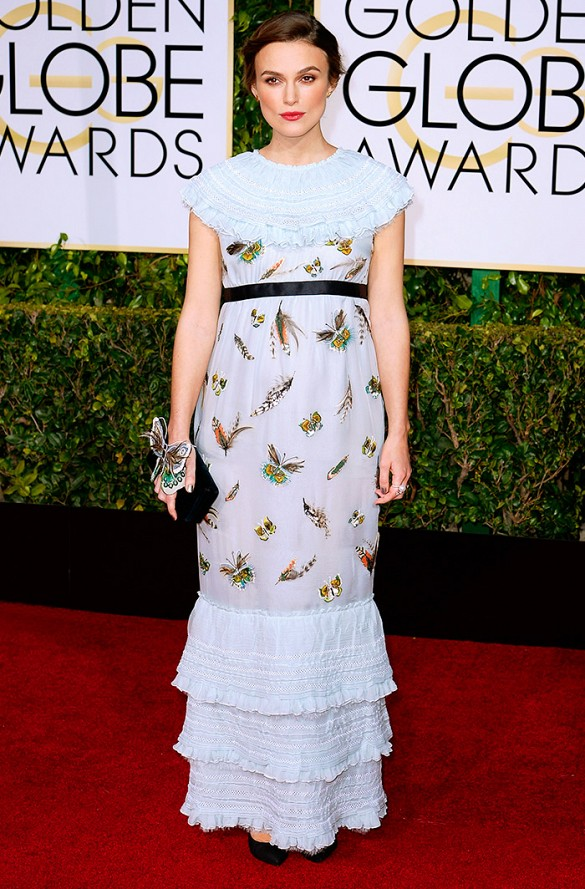 PHOTO: Kevork Djansezian/NBC/NBCU Photo Bank Keira Knightley - Nominee for Best Supporting Actress in a Motion Picture Drama for The Imitation Game