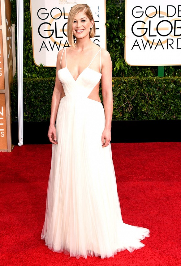 PHOTO: Jason Merritt/Getty Images Rosamund Pike - Nominee for Best Actress in a Motion Picture Drama for Gone Girl
