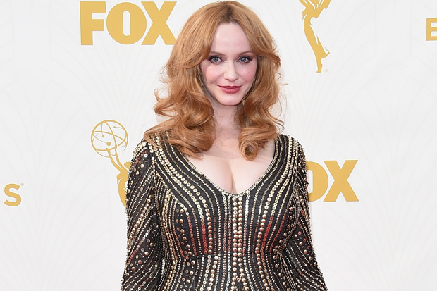 LOS ANGELES, CA - SEPTEMBER 20: Actress Christina Hendricks attends the 67th Annual Primetime Emmy Awards at Microsoft Theater on September 20, 2015 in Los Angeles, California. (Photo by Jason Merritt/Getty Images)