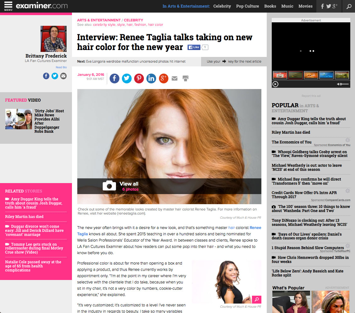 examiner-article-with-renee-taglia and the science of hair color
