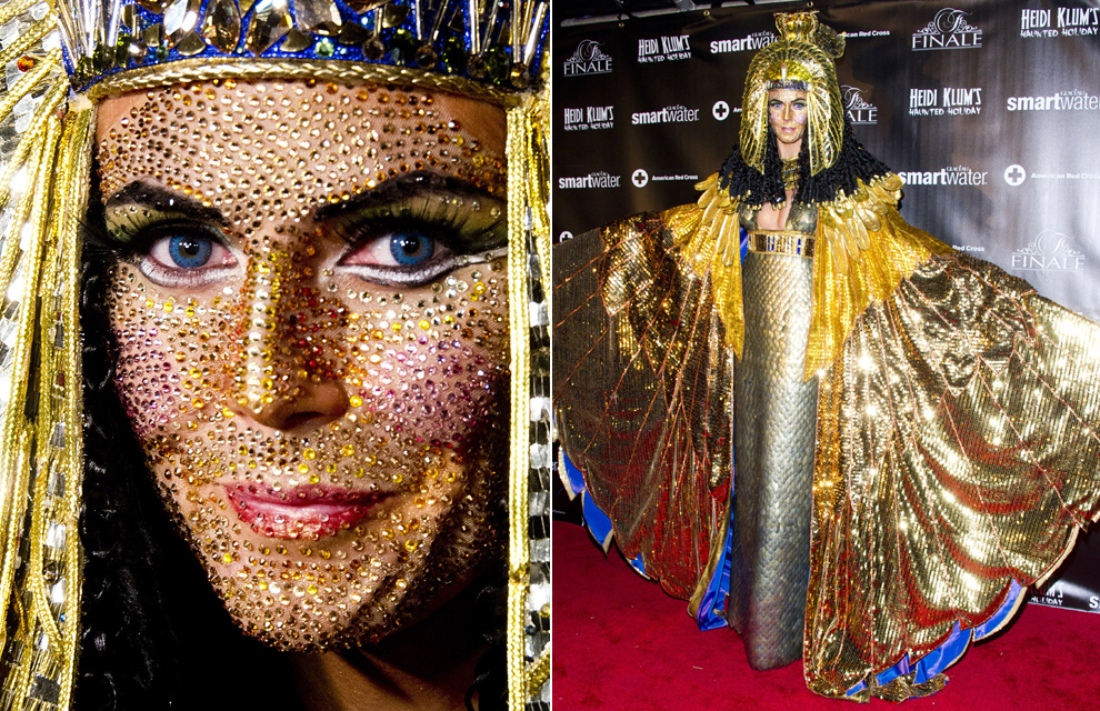Each year she throws an elaborate Halloween party where she truly is costumed to perfection. Cleopatra may be a typical Halloween costume ... & Master Hair Colorists Picks for Best Halloween Looks (Celebrity ...