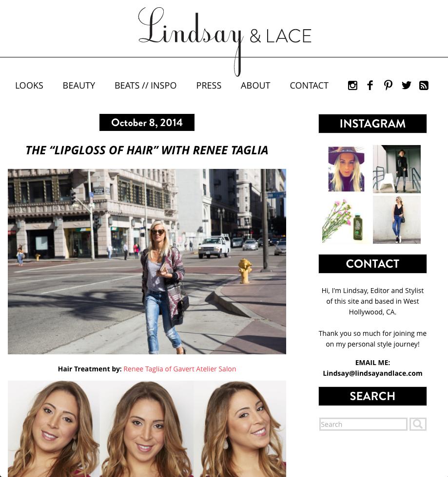 lindsay-and-lace-lipgloss-hair