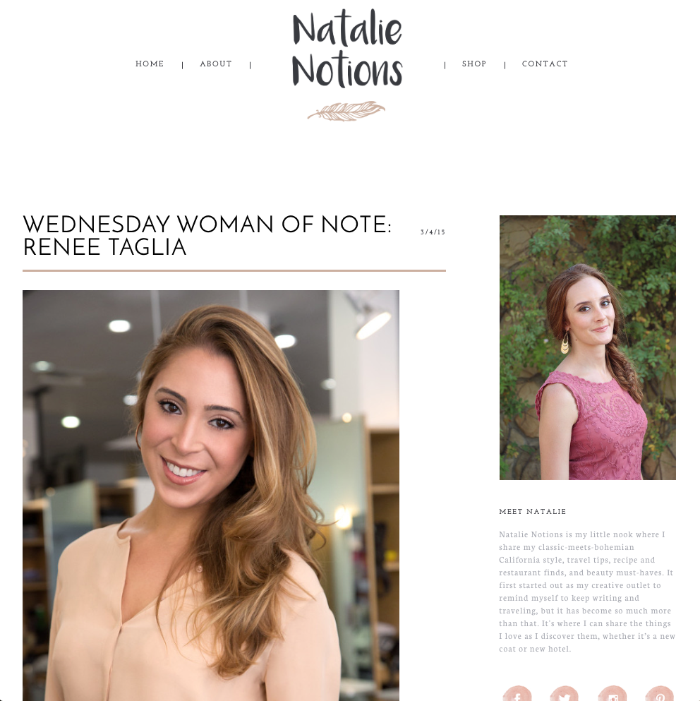 natalie-notions-magazine-article