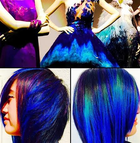 special effects halloween hair coloring