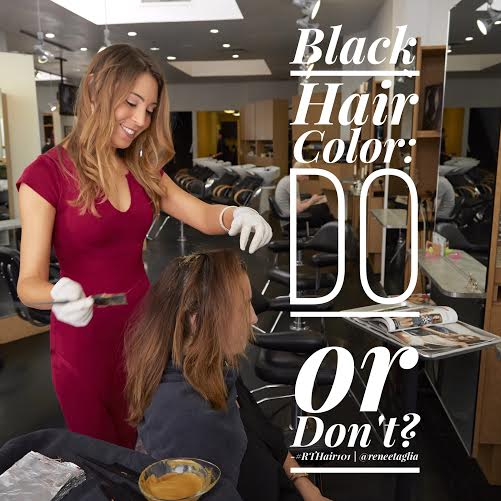 Black Hair Color: Do or Don't?