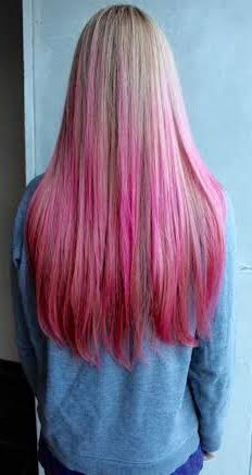 pink hair colors