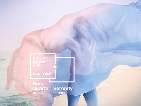 Color of the Year: Rose Quartz & Serenity