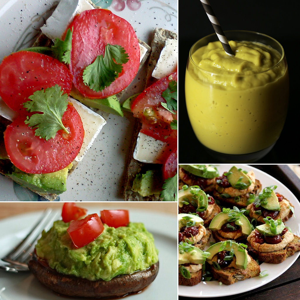 Avocado-Snack-Ideas for healthy hair