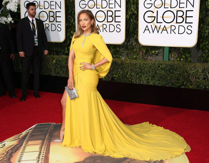 Best Hair of the Golden Globes 2016 - JLo