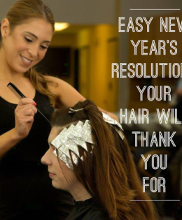 Easy New Year's Resolutions Your Hair Will Thank You For!