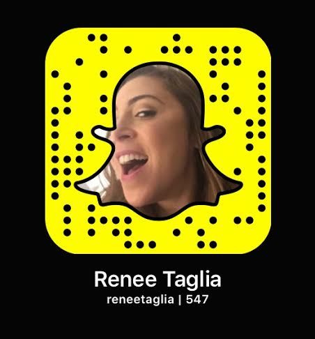 snapchat with renee taglia - follow me Chicago Bound!