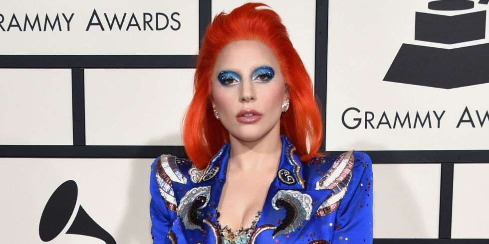 Lady Gaga has the Best Hair Color of the 2016 Grammys