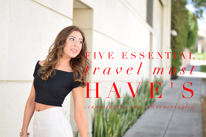 Five Travel Essentials